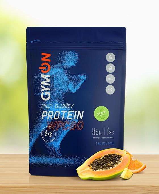 Tropinio skonio baltymų kokteilis