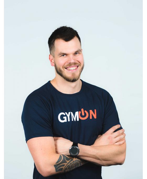GymON marškinėliai, vyriški