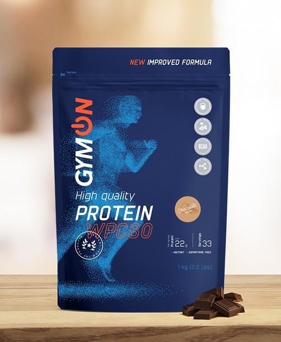 Šokolado skonio baltymų kokteilis